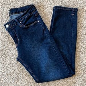 Just Black Cropped Skinny Jeans - Size 26
